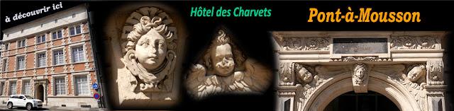 PONT-A-MOUSSON (54) - Hôtel des Charvets (XVIe-XVIIe)