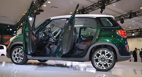 Inside the Fiat 500L