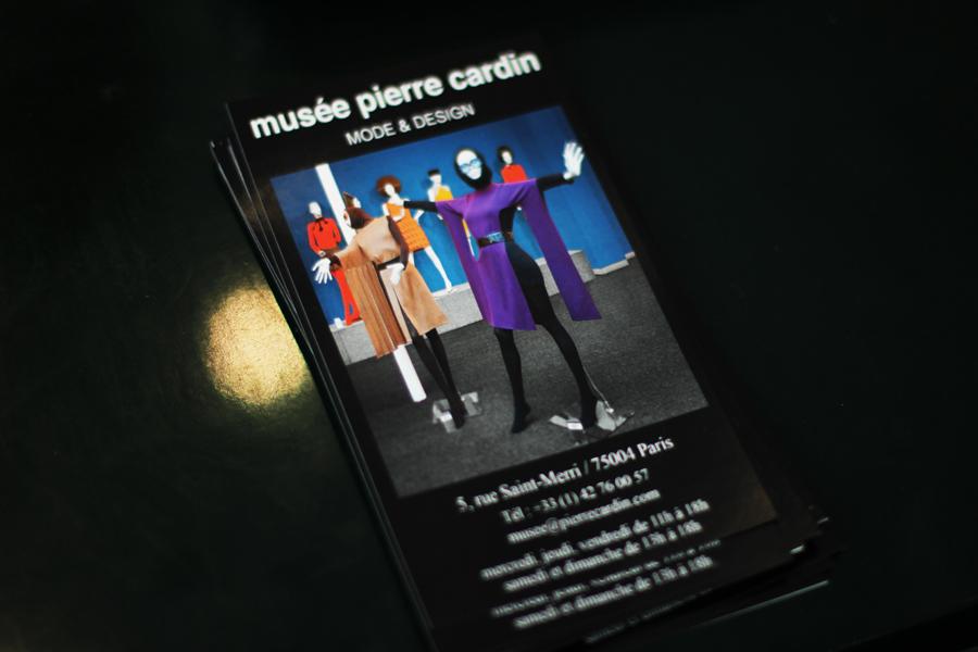 musée pierre cardin flyer