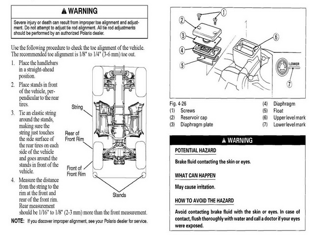 Free Polaris Xpedition-425 Owners Manual Supplement 2000 Download thumbnail