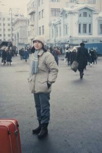 1986年2月初,在莫斯科倒车。