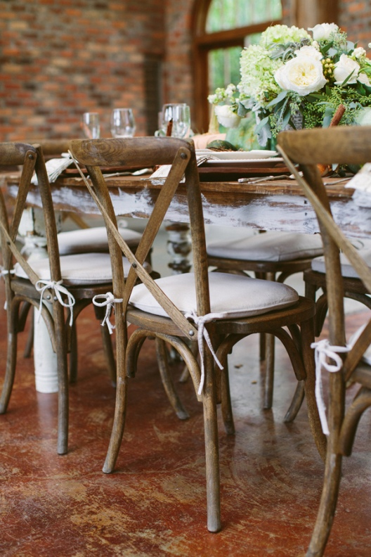 ideas para una mesa de boda de otoño