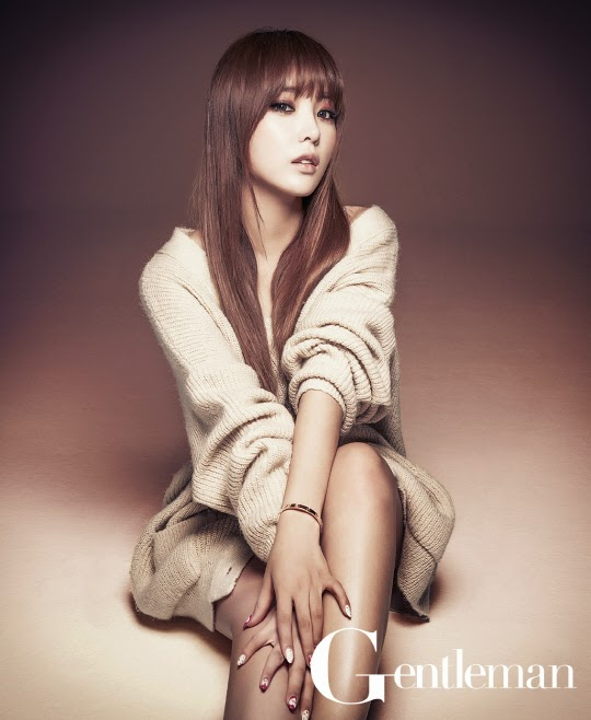 Hong Jin Young - Gentleman Magazine April Issue 2014