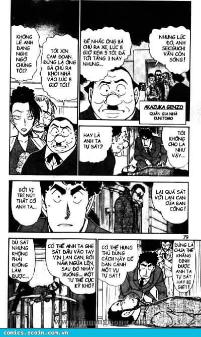 Detective Conan - Thám Tử Lừng Danh Conan chap 495 page 5 - IZTruyenTranh.com