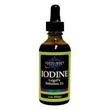 iodine mole removal