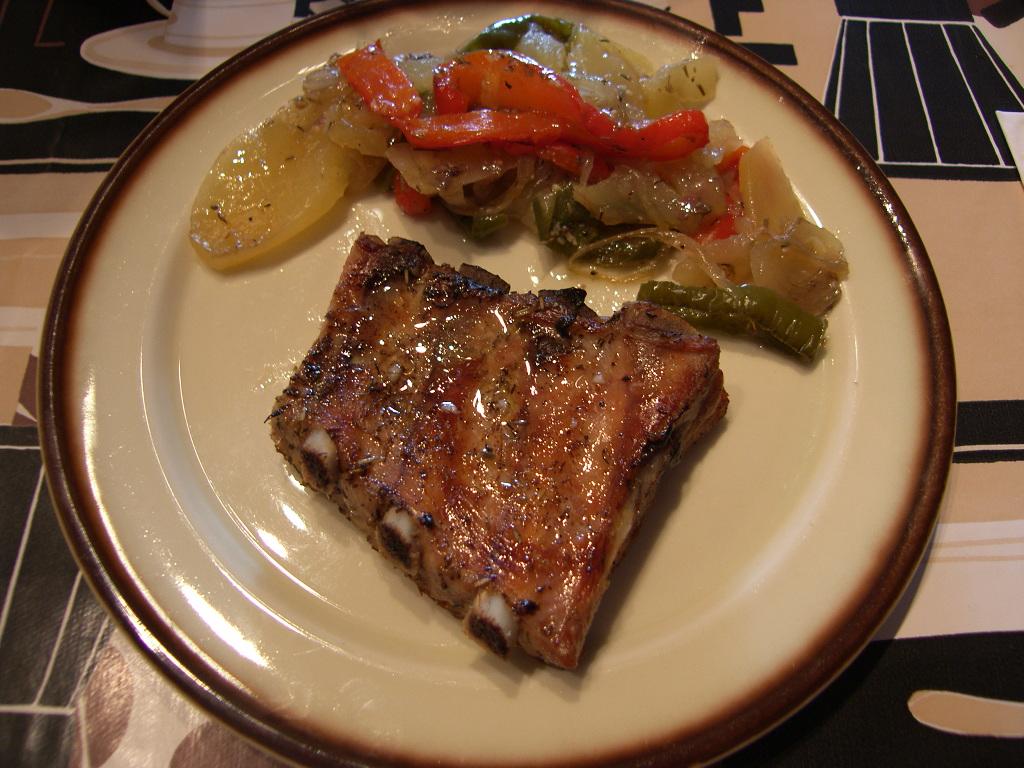Can joan i sara costillas de cerdo al horno con patatas - Patatas con costillas de cerdo ...