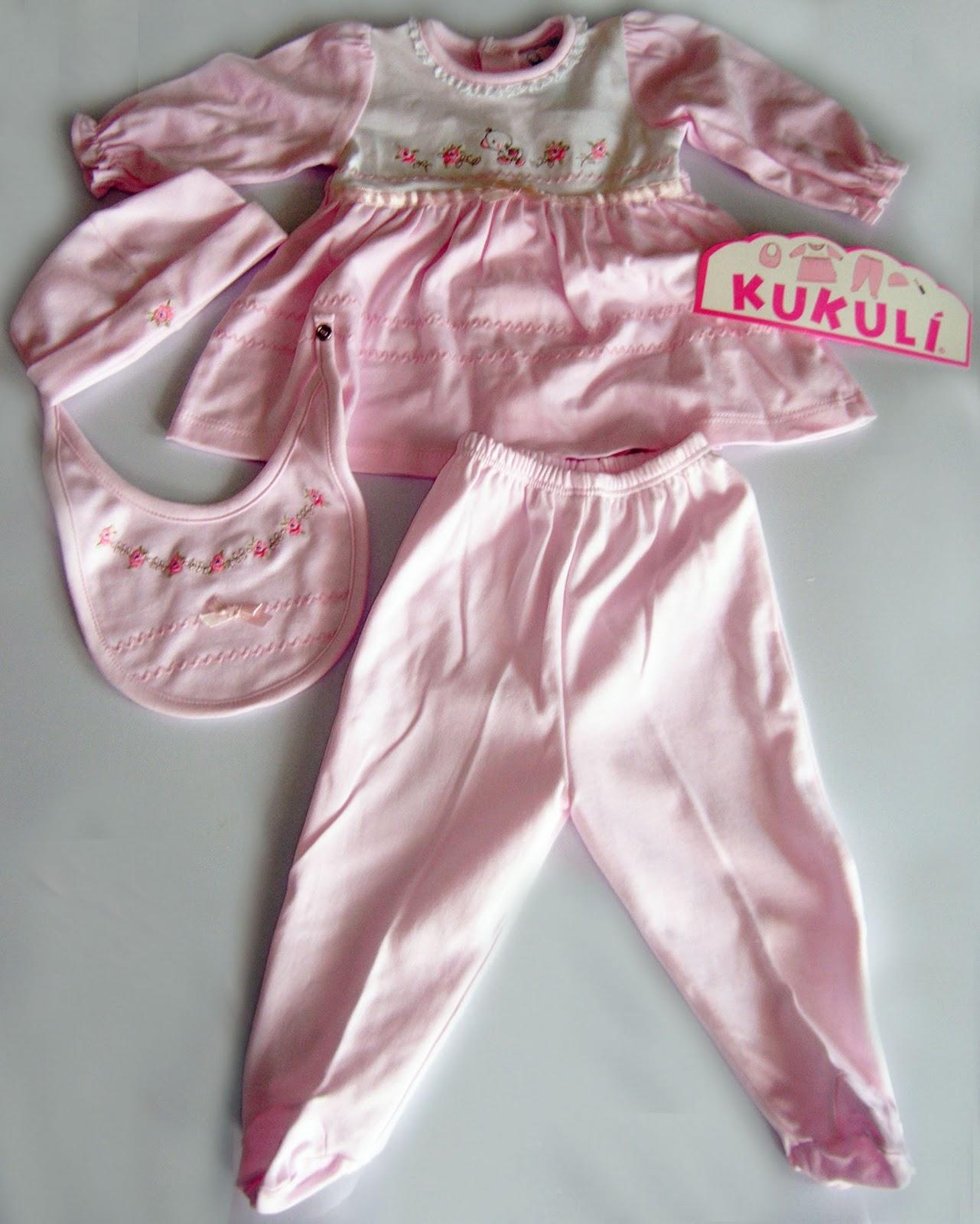 Vestidos de bebe kukuli