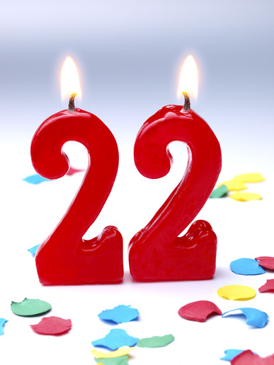 Поздравление с 22 парню