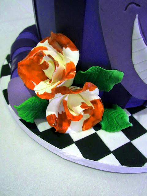 Cheshire Cat Bridal Shower Cake