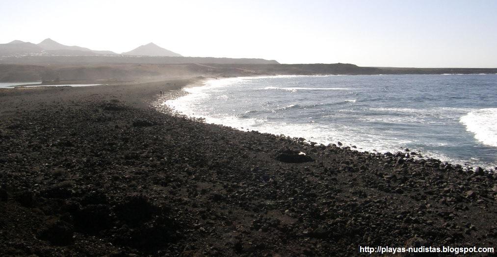 Playa de Janubio (Lanzarote, Canarias)