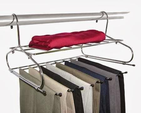 Como pendurar calça jeans no cabide