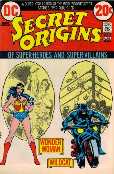 Secret Origins #3, Wonder Woman and Wildcat