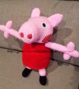 Peppa Pig Amigurumi Taller De Mao : PEPPA PIG PATRONES AMIGURUMIS GRATIS