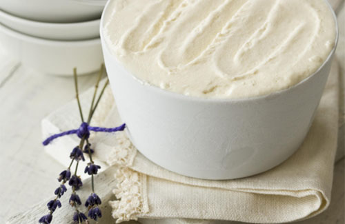 Megan Missfit: honey lavender ice cream