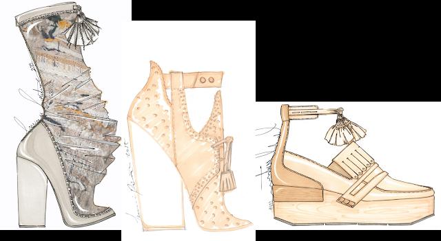 Bocetos prospectamoda calzado artisan mexico es moda sapica