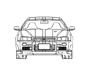 #1 Fast and Furious Coloring Page