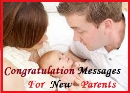 Congratulation messages new parents an extended family of new parents who have just ushered a new phase of their life is just the moment for writing in and conveying your joy and blessings m4hsunfo