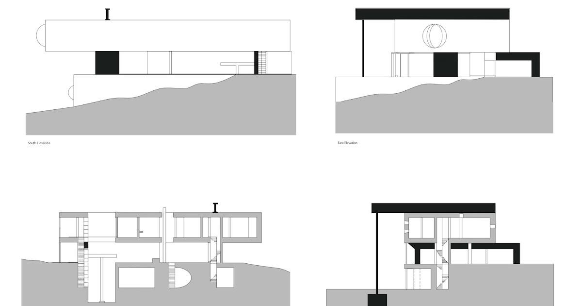 arch1201 design studio 3 2013 part a maison a bordeaux drawings week 3. Black Bedroom Furniture Sets. Home Design Ideas