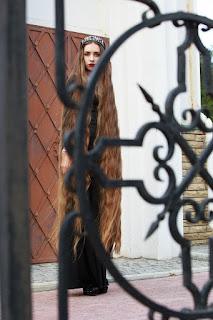 floor length hair