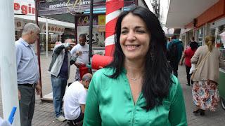 Ana Lúcia Medeiros, gerente do Sincomércio, destaca a união do poder público, empresas e entidades em prol do projeto