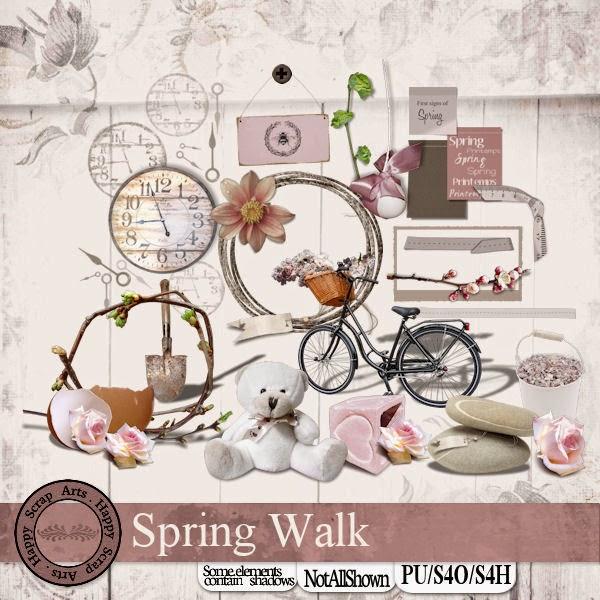 April 2015 HSA Spring Walk elementen