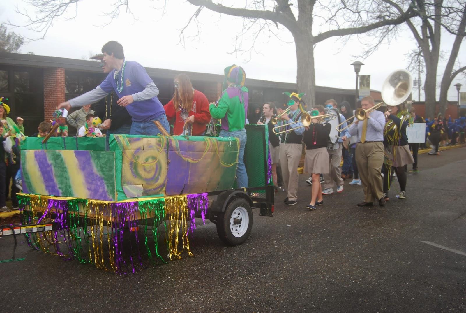 Mardi Gras Comes to Montgomery Catholic's St. Bede Campus 4