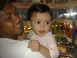 En. Suami with her daughter Qaceh
