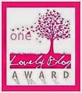 "Premio ""One Lovely Blog Award"":"