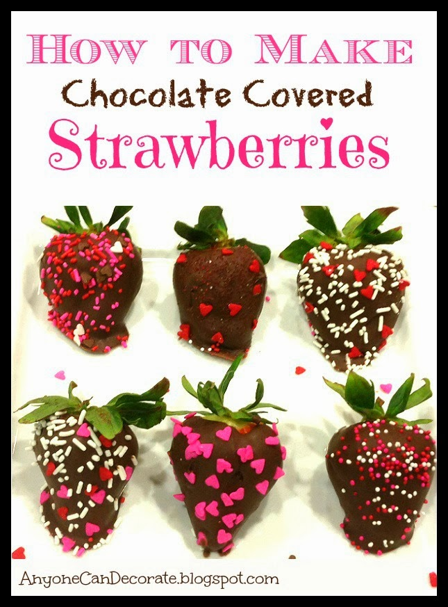 Anyone can decorate how to make chocolate covered for What can you make with strawberries