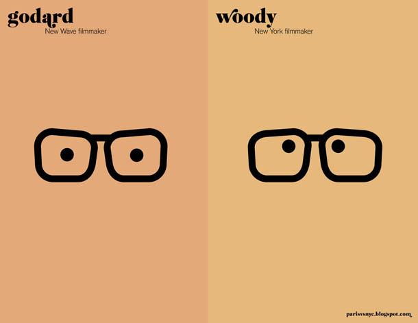 os realizadores - Godard vs Woody Allen