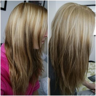Pearl Blonde Hair Color  Dark Brown Hairs