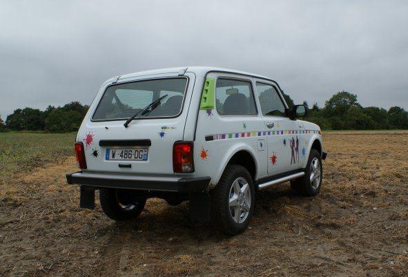 La Gazette Automobile Lada Niva Paintball S 233 Rie Limit 233 E