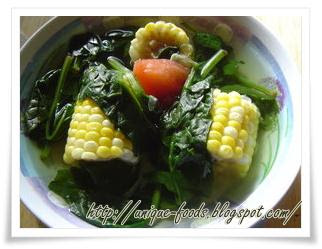 Overview about Indonesian Traditional food today is Soup of Vegetable Nodes, it's usually called Sayur Bening. The recipe of this soup also very simple because just need water, sugar, and salt. This food came from Central Java.