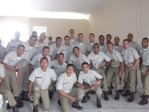 Alunos a Soldado do 13º BPM
