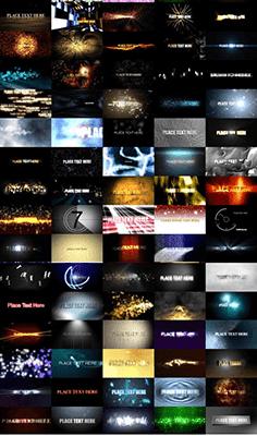 Pack de 100 Animaciones de Textos