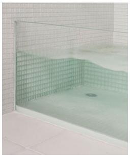 Actualidad arquitectura de casas today ba era a medida dise ando con el vidrio - Banera a medida ...