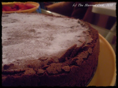 Flourless Chocolate Pudding Cake