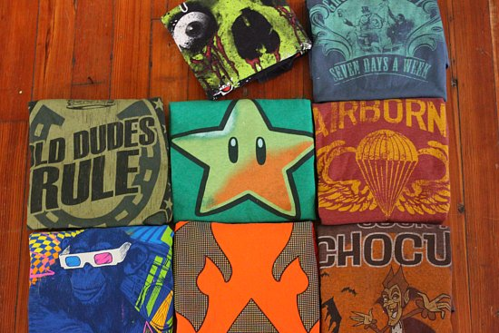 reselling experiments vintage t shirt haul and selling