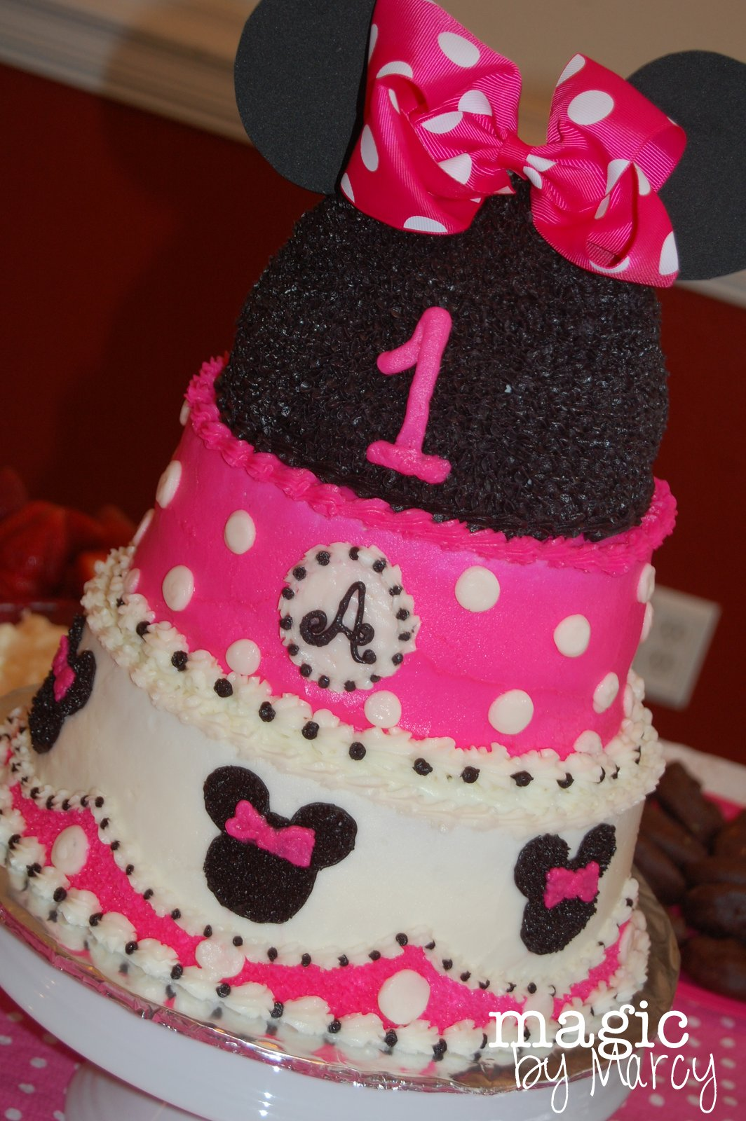 Muffins With Minnie First Birthday Party Magic By Marcy