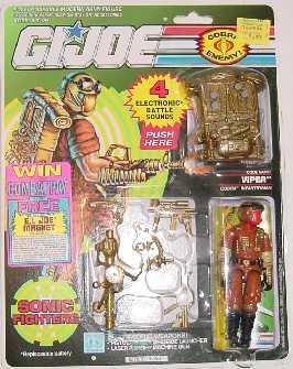 1990 Gold Viper, Super Sonic Fighters, MOC