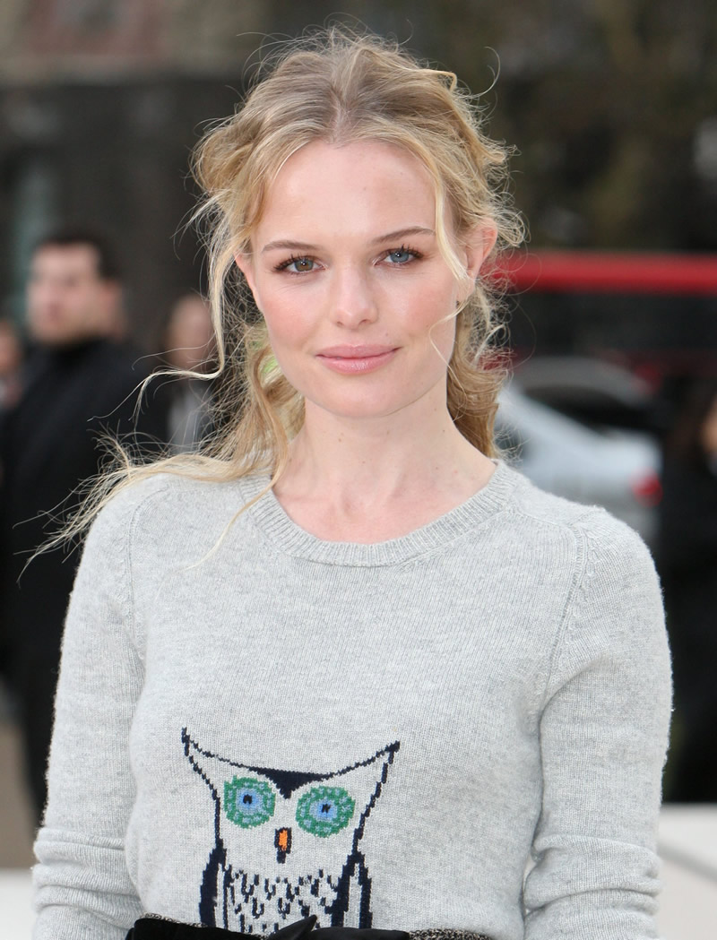 gallery enlarged kate bosworth burberry show 10 - Kate Bosworth