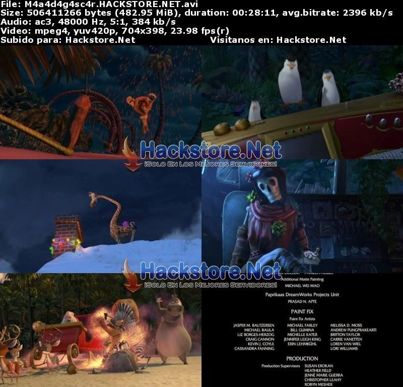 Captura Feliz Madagascar (2009) DVDRip Latino
