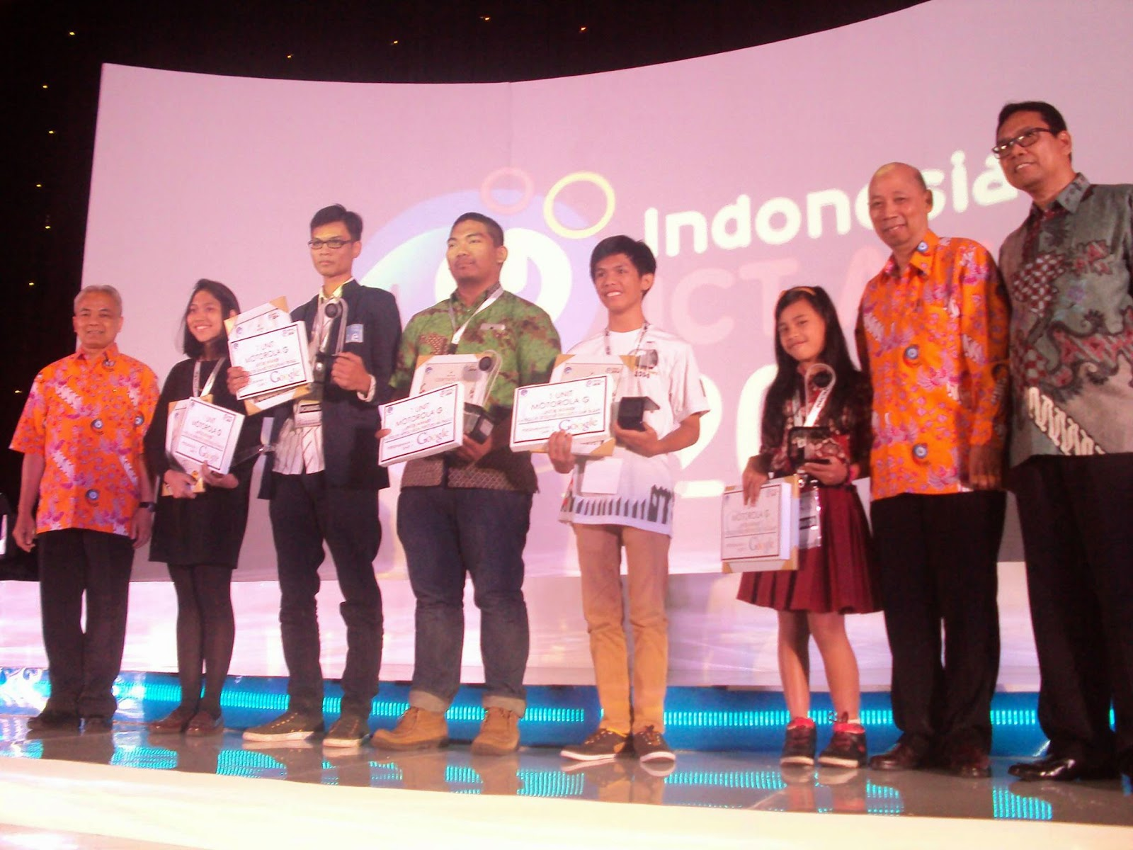 Komunitas Raspberry Pi Garut Juara Nasional INAICTA 2014 Pusat