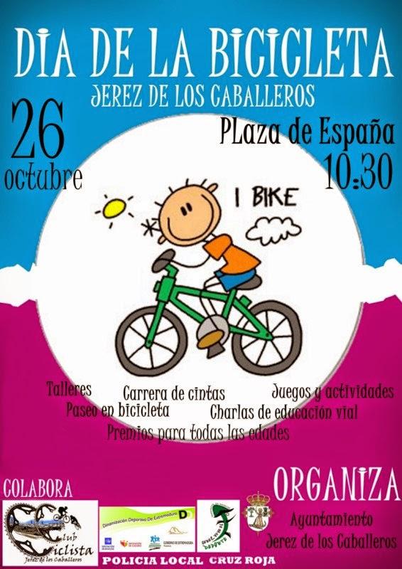 DÍA DE LA BICICLETA 26 DE OCTUBRE