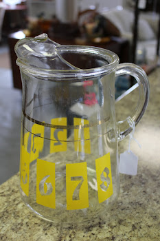 Retro Ice Tea Pitcher