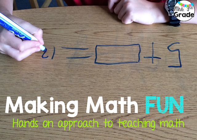 Making Math Fun - Hands on approach to teaching math