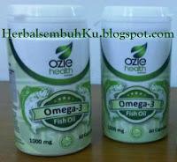 Jual Omega 3 fish oil ozie health Surabaya Jakarta