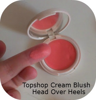 Topshop Cream Blush in Head Over Heels