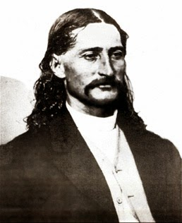 James Butler Hickok (27 May 1837-2 August 1876) better known as Wild Bill Hickok