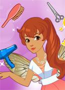 Сказочная прическа - Онлайн игра для девочек